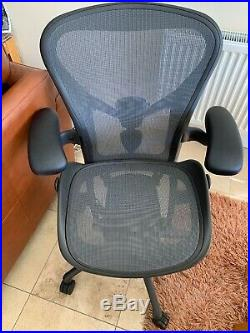 Herman Miller Aeron Chair Size B Remastered Model Desk Chair Office Chair