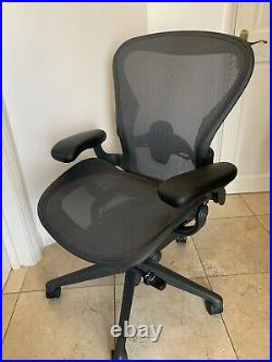 Herman Miller Aeron Chair Size B Remastered Model Office Chair Computer Chair