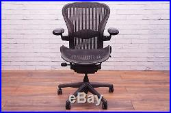 Herman Miller Aeron Chair Size B With Lumbar Support
