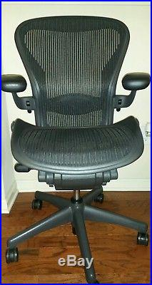 Herman Miller Aeron Chair Size B in excellent condition
