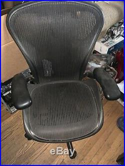 Herman Miller Aeron Chair Size B with lumbar