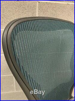 Herman Miller Aeron Chair Size C Blue