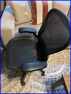 Herman Miller Aeron Chair Size C Fully Ergonomical