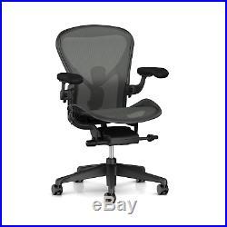 Herman Miller Aeron Chair, Size C, Graphite