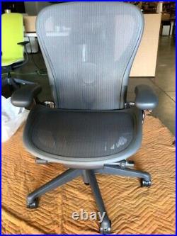 Herman Miller Aeron Chair Size C Large Floor Models Office Designs Outlet