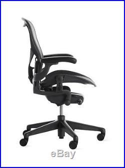 Herman Miller Aeron Chair Size C PostureFit Adjustable Arm