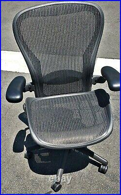 Herman Miller Aeron Chair Size C fully loaded Pristine