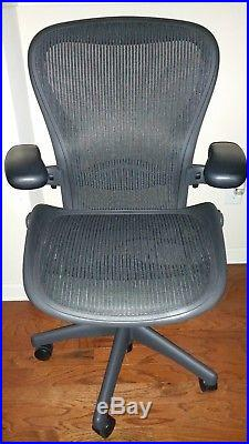 Herman Miller Aeron Chair Size C in excellent condition
