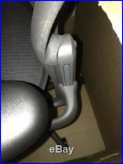 Herman Miller Aeron Chair Titanium Gray Size B Office Chair Basic Model