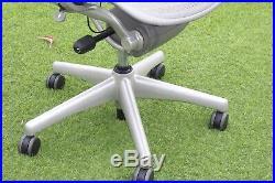 Herman Miller Aeron Chair Titanium Size B + Lumber Support Posture Local Pickup