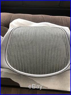 Herman Miller Aeron Classic Seat Pan New Smoke