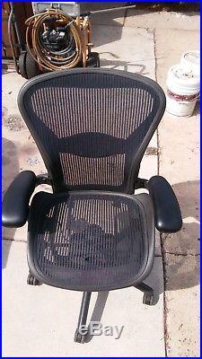 Herman Miller Aeron Desk/Office Chair (Excellent Condition) MUST GO