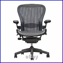 Herman Miller Aeron Draftsmans Chair Graphite, Size C