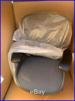 Herman Miller Aeron Ergonomic Office Chair with Tilt Limiter Adjustable Posture