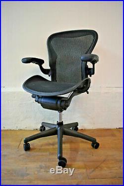Herman Miller Aeron Ergonomic Office Swivel Chair Free Shipping Size B