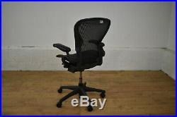 Herman Miller Aeron Ergonomic Office Swivel Chair Size B Graphite 25 Stock