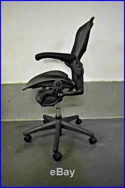 Herman Miller Aeron Ergonomic Office Swivel Chair Sizee B WithLumbar 3 Stock