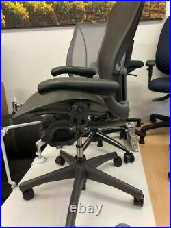 Herman Miller Aeron Flip Arm Task chair B Posture fit, Working from home