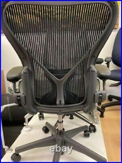 Herman Miller Aeron Flip Arm Task chair B fully loaded inc posture fit lumbar