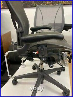 Herman Miller Aeron Flip Arm Task chair B fully loaded with posture fit