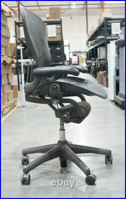 Herman Miller Aeron Graphite Size B Ergonomic Chair Parts Repair LA Local Pickup