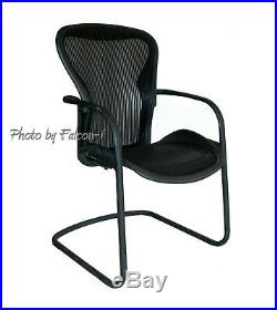 Herman Miller Aeron Iconic Charcoal Side Chair AE500P HermanMiller