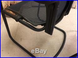 Herman Miller Aeron Iconic Side blue Chair HermanMiller