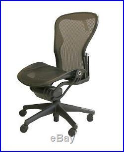 Herman Miller Aeron Mesh Ergonomic Office Task Chair Sz B NEEDS ATTENTION #18