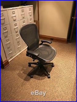Herman Miller Aeron Mesh Office Chair Large C