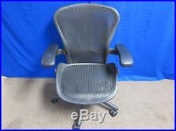 Herman Miller Aeron Mesh Office Chair Medium B Adjustable ERGONOMIC