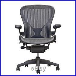 Herman Miller Aeron Mesh Office Chair Medium Size B fully adj Posture fit new