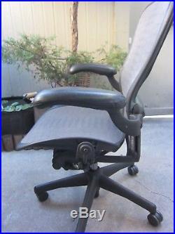 Herman Miller Aeron Mesh Office Desk Chair Large Size C Local pickup