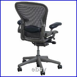 Herman Miller Aeron Mesh Office Desk Chair Medium Size B fully lumbar with blemish