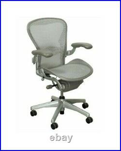 Herman Miller Aeron Mesh Office Desk Chair Medium Size B semi adjustable lumbar