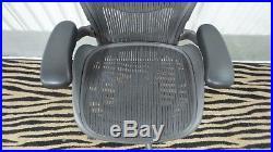 Herman Miller Aeron Mesh Office Desk Chair Medium Sz B fully adjustable/loaded