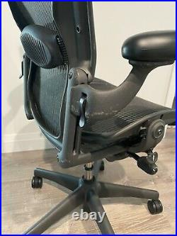Herman Miller Aeron Mesh Office Desk Chair Size C Excellent Used Condition