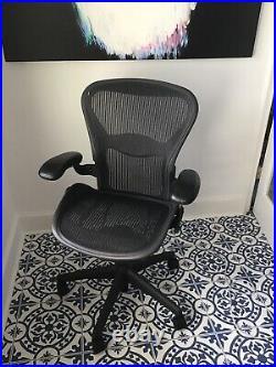 Herman Miller Aeron Mesh Office Desk Chair (size B) with fully adjustable lumbar