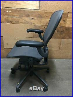 Herman Miller Aeron Office Chair Adjustable Remastered Model C Large Size