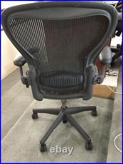 Herman Miller Aeron Office Chair Black For Parts. Local Pickup