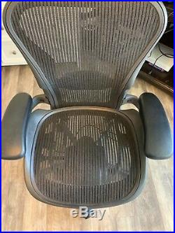 Herman Miller Aeron Office Chair Black Size A