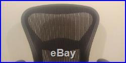 Herman Miller Aeron Office Chair Black Size B