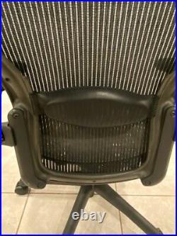 Herman Miller Aeron Office Chair Black, Size B, Adjustable 3D01