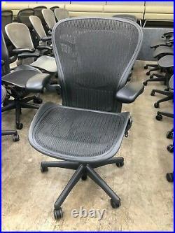 Herman Miller Aeron Office Chair Graphite/Carbon B Size
