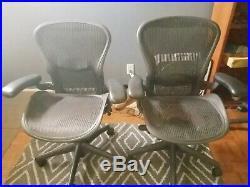 Herman Miller Aeron Office Chair Graphite, Size A & B