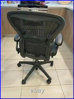 Herman Miller Aeron Office Chair Graphite, Size B Multiple options available