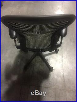 Herman Miller Aeron Office Chair Graphite, Size B (READ DESCRIPTION)