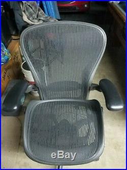 Herman Miller Aeron Office Chair Graphite, Size C