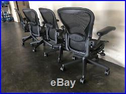 Herman Miller Aeron Office Chair Medium B Adjustable ERGONOMIC Fully Loaded