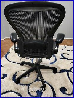 Herman Miller Aeron Office Chair Medium Size B fully adjustable lumbar