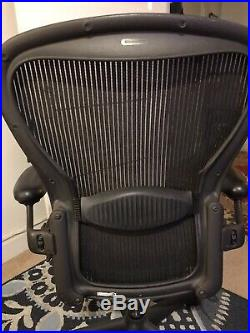 Herman Miller Aeron Office Chair NO RESERVE, Size C, Black